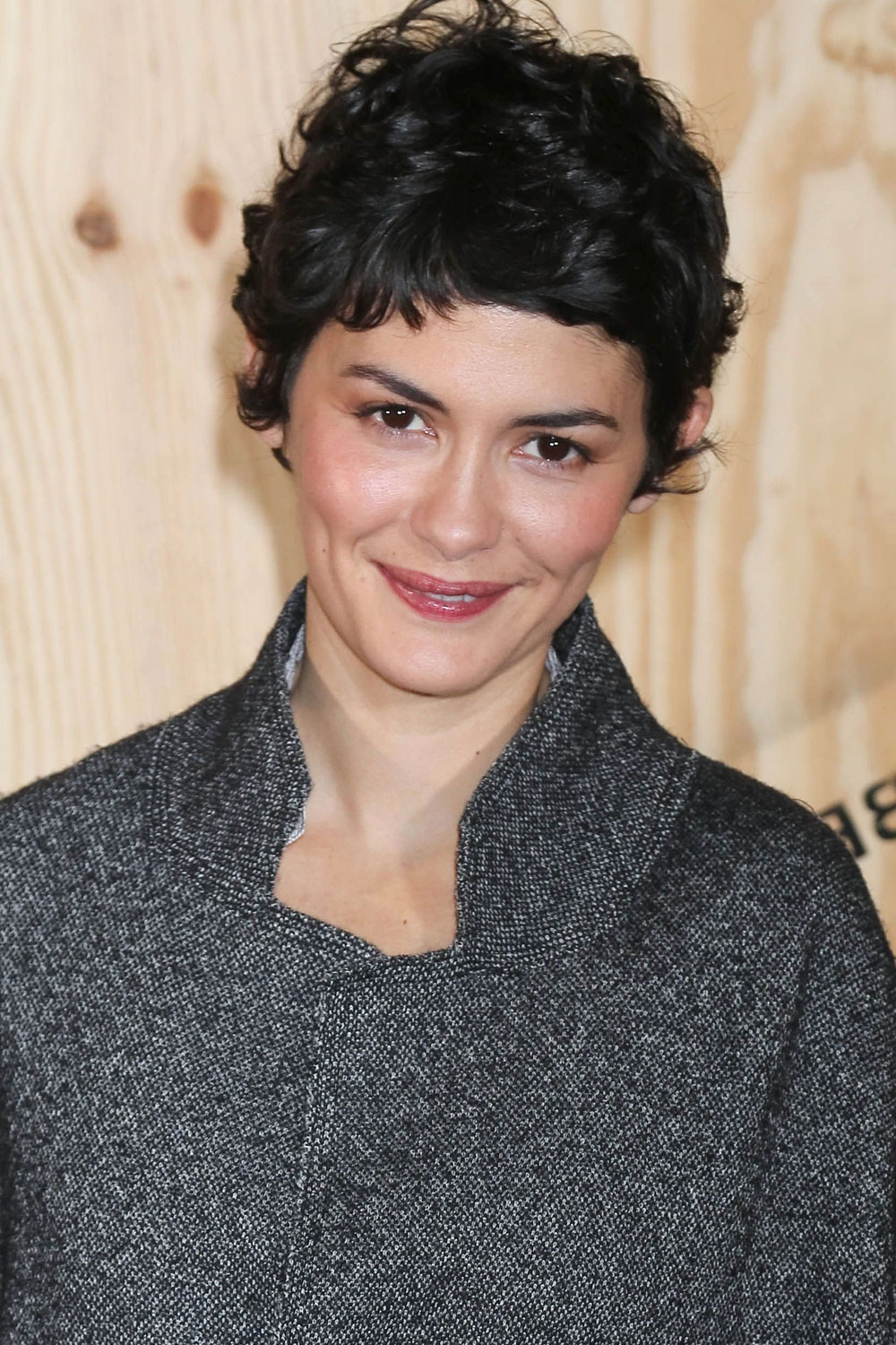 Audrey Tautou With A Messy Pixie Crop – The Hair 100: Top Celebrity Throughout Audrey Tautou Short Haircuts (View 5 of 25)