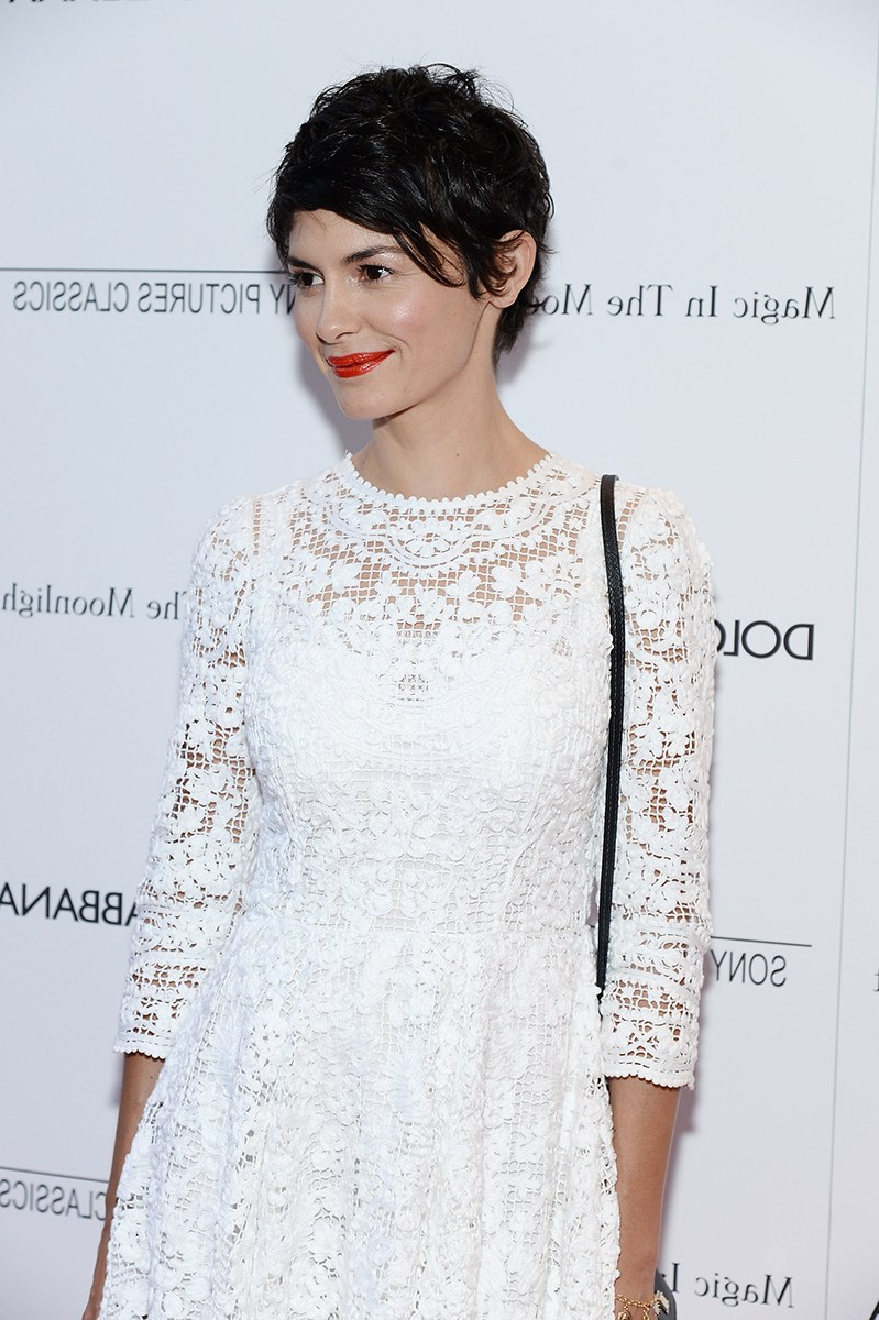 Audrey Tautou's Pixie Cut — Vogue – Vogue With Regard To Audrey Tautou Short Haircuts (View 18 of 25)