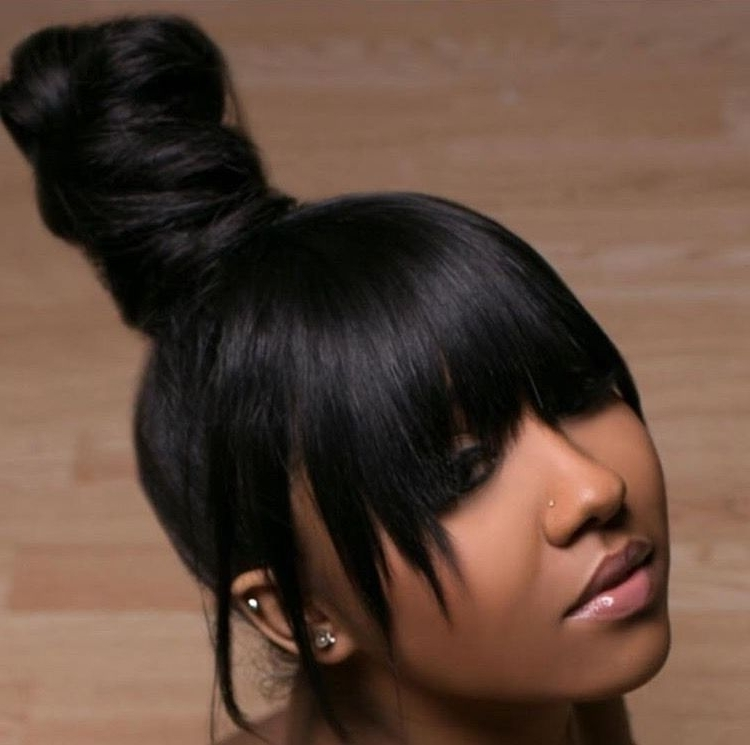 Ava. ? | Hair•addictions | Pinterest | Hair, Hair Styles And Ponytail With Braid And Bun Ponytail Hairstyles (Gallery 6 of 25)