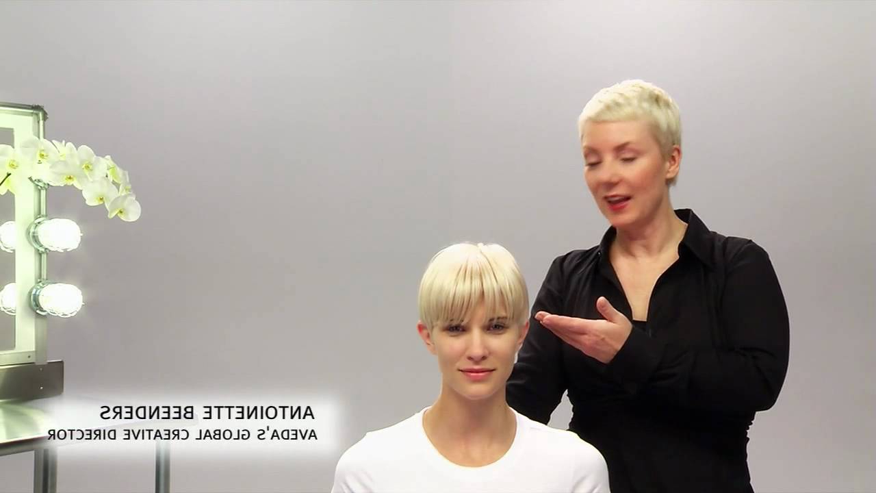 Aveda How To | The Tousled Look For Short Hairstyles – Youtube Intended For Tousled Short Hairstyles (Gallery 22 of 25)