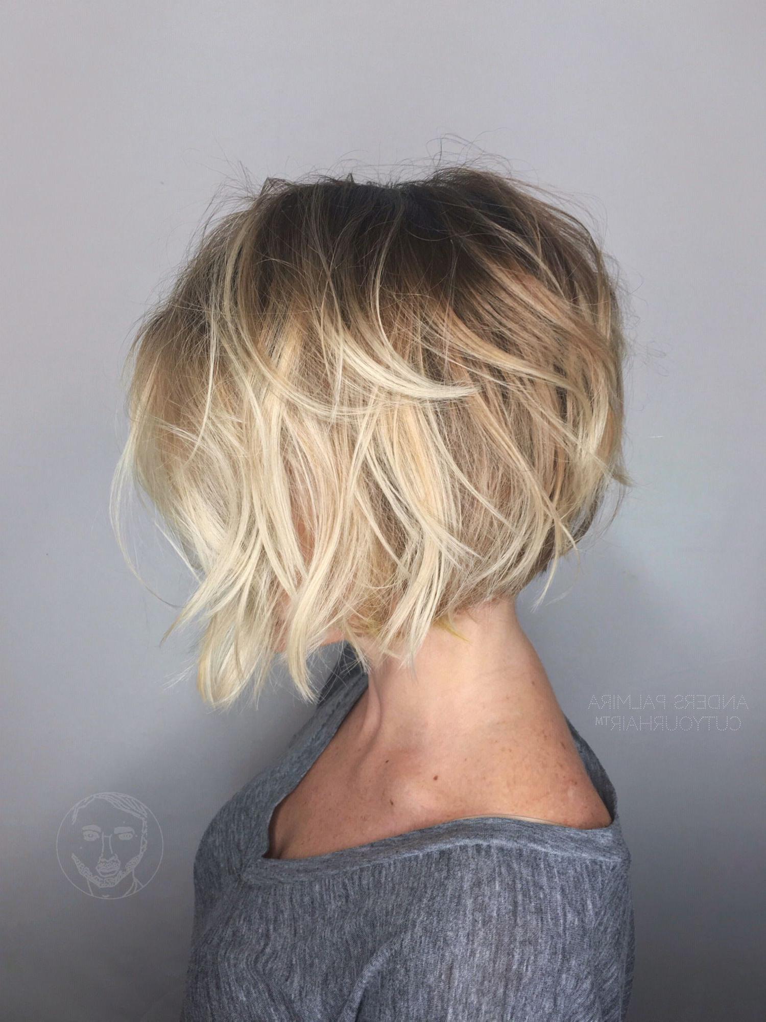 Aveda Wavy Long Blonde Bob Short Hair Beach Wave Medium Ideas Lob With Nape Length Curly Balayage Bob Hairstyles (Gallery 1 of 25)