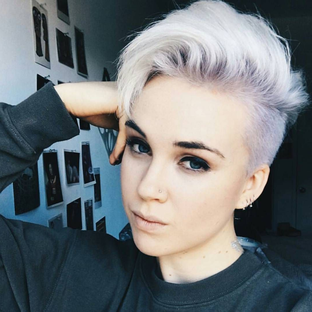Awesome 45 Unique Short Hairstyles For Round Faces – Get Confident Regarding Funky Short Haircuts For Round Faces (Gallery 15 of 25)
