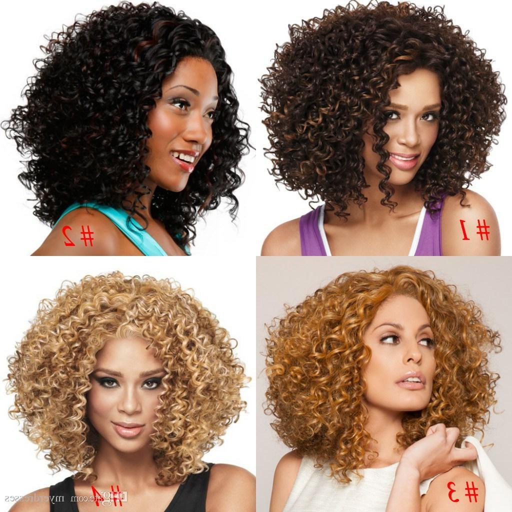 Awesome Short Hairstyle Wigs For Black Women – Uternity Inside Short Haircuts For Kinky Hair (Gallery 22 of 25)