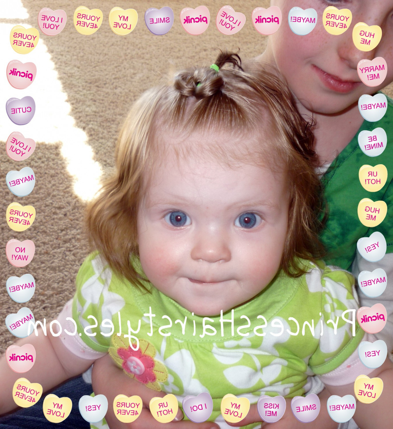 Baby Girl Hairstyles For Short Curly Hair Archives – Cut Hairstyle 2018 Regarding Baby Girl Short Hairstyles (View 25 of 25)