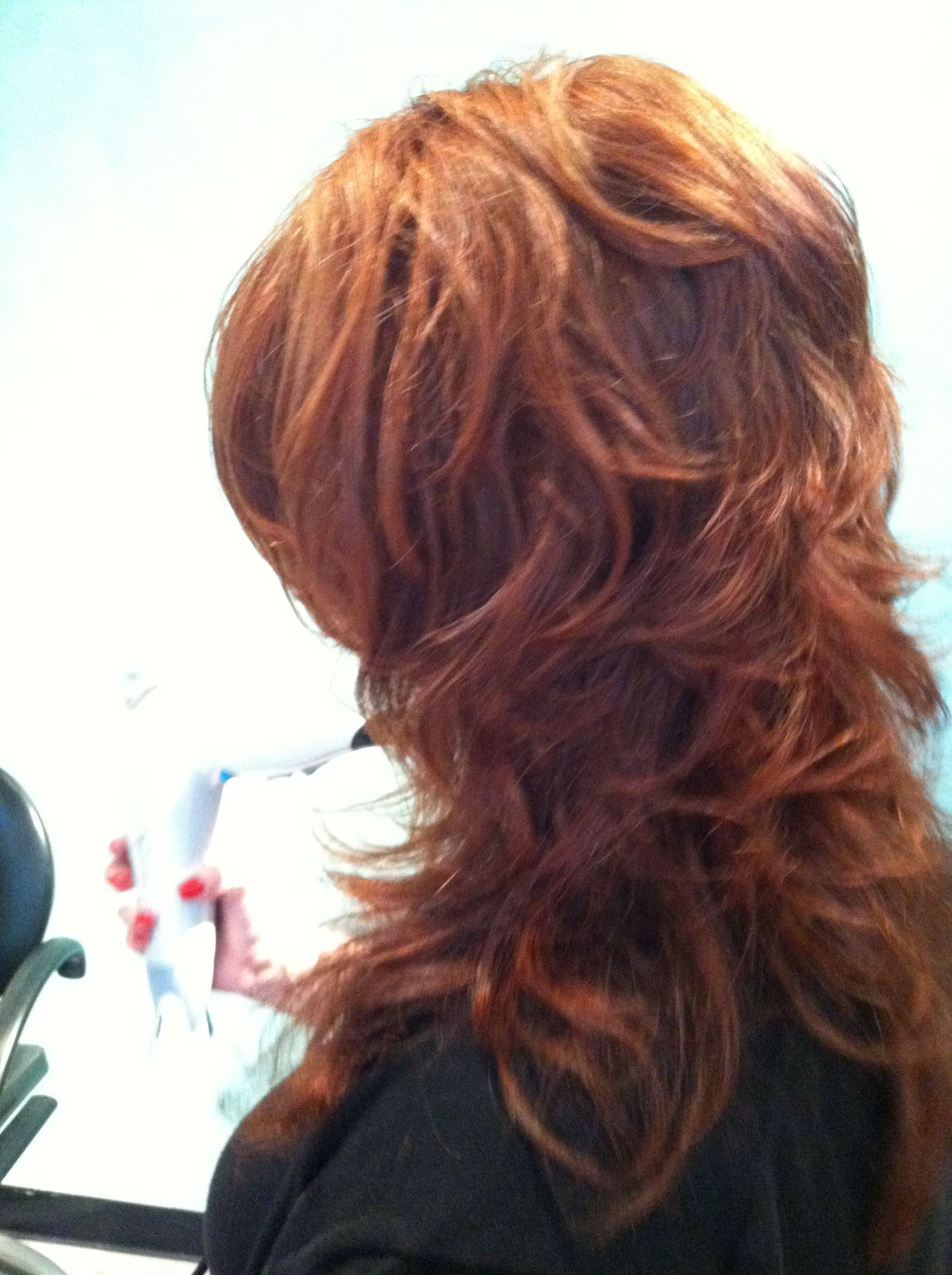 Back View Of Paula's Short Layers On Long Hair | Hairkelly O With Regard To Long And Short Layers (View 18 of 25)