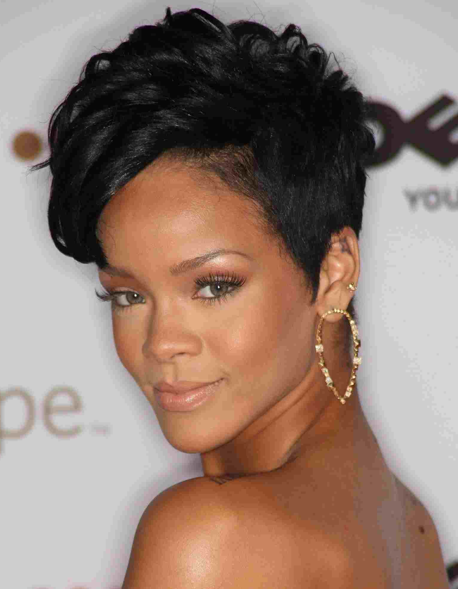 Back View Razor Cut Stock Photos Hd Rhhellomagazininfo Fascinating Within Short Haircuts For Black Women With Fine Hair (View 7 of 25)