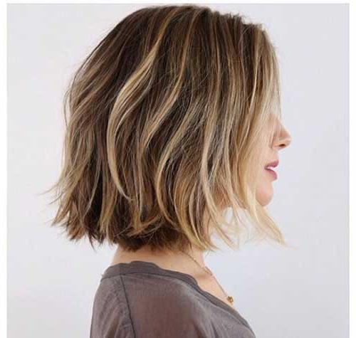 Balayage Highlights Ideas – Hair World Magazine Regarding Razored Brown Bob Hairstyles (View 23 of 25)