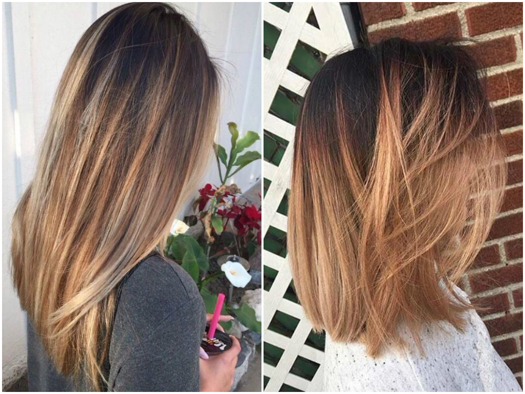 Balayage On Straight Hair   Short, Medium Length, Long With Regard To Short Hairstyles With Balayage (View 20 of 25)