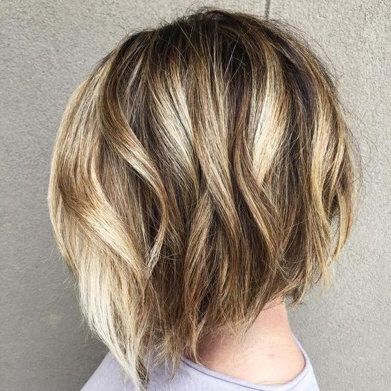 Balayage Short Bob Hairstyles For Women Thick Hair – Bob Haircut Throughout Short Wavy Blonde Balayage Bob Hairstyles (View 25 of 25)