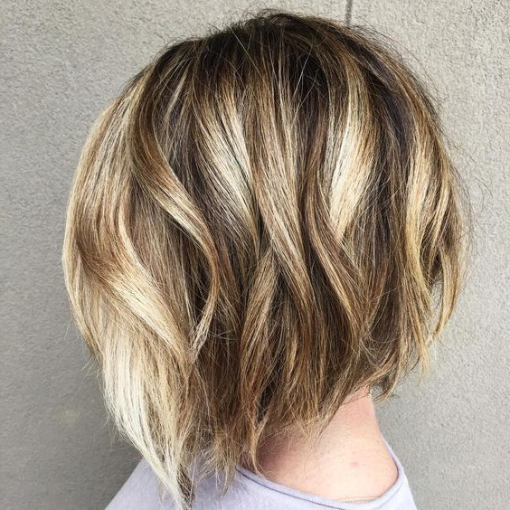Balayage Short Bob Hairstyles For Women Thick Hair – Bob Haircut Within Balayage Bob Haircuts With Layers (View 9 of 25)