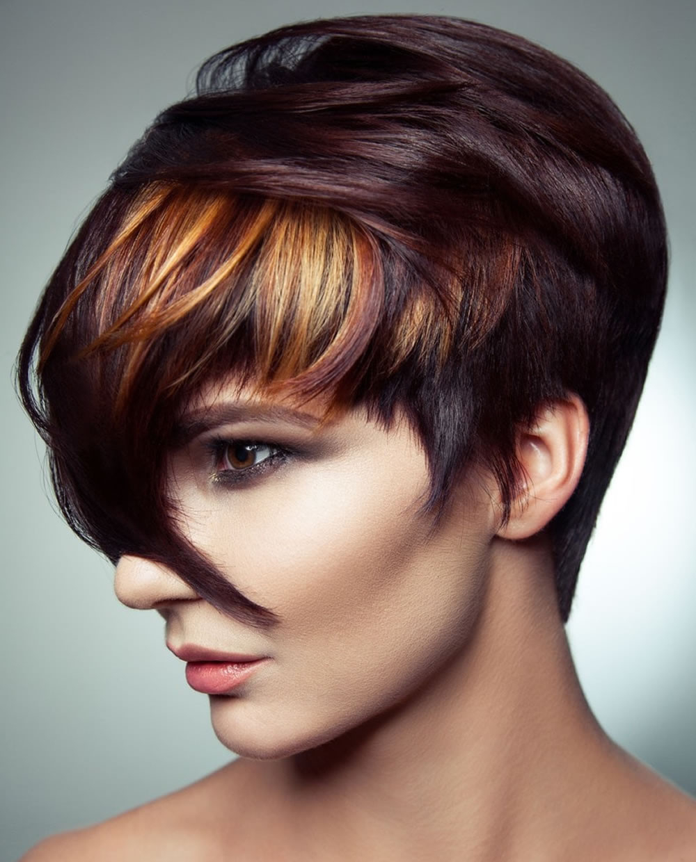 Balayage Short Hairstyles & Short Haircuts & Balayage Hair Beautiful In Short Hairstyles With Balayage (View 21 of 25)
