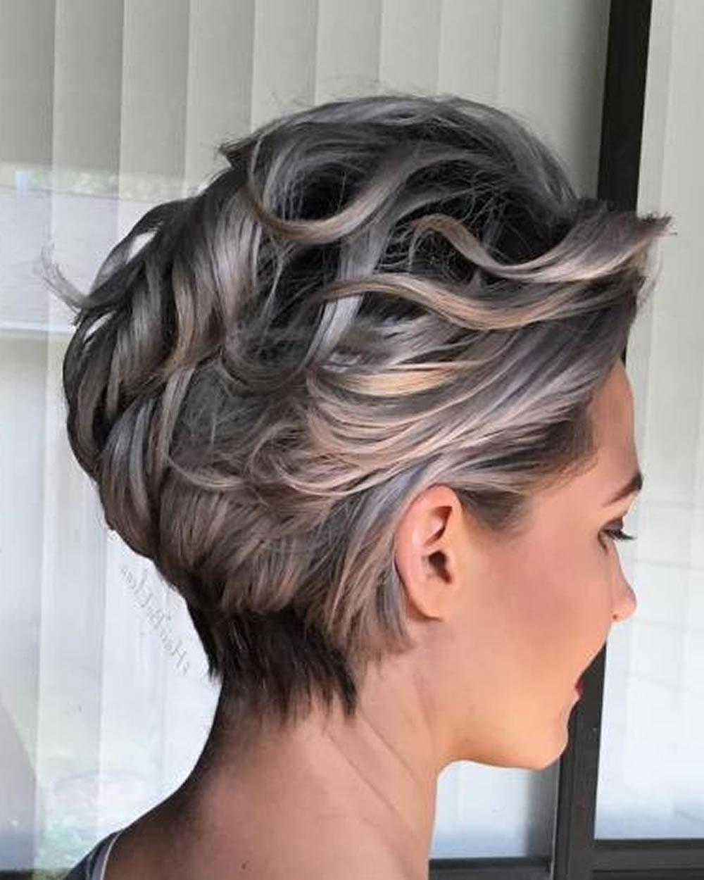 Balayage Short Hairstyles & Short Haircuts & Balayage Hair Colors With Regard To Short Hairstyles With Balayage (View 8 of 25)