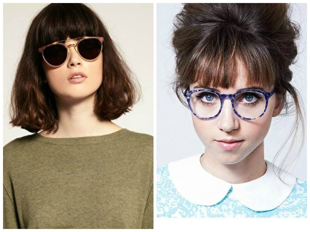 Bangs And Glasses Can Be Adorable, Quirky Or Edgy But It Could Also For Short Hairstyles For Round Faces And Glasses (View 19 of 25)