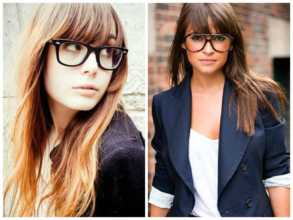 Bangs And Glasses Hairstyle Ideas   My Style In 2018   Pinterest Throughout Short Haircuts With Bangs And Glasses (View 13 of 25)