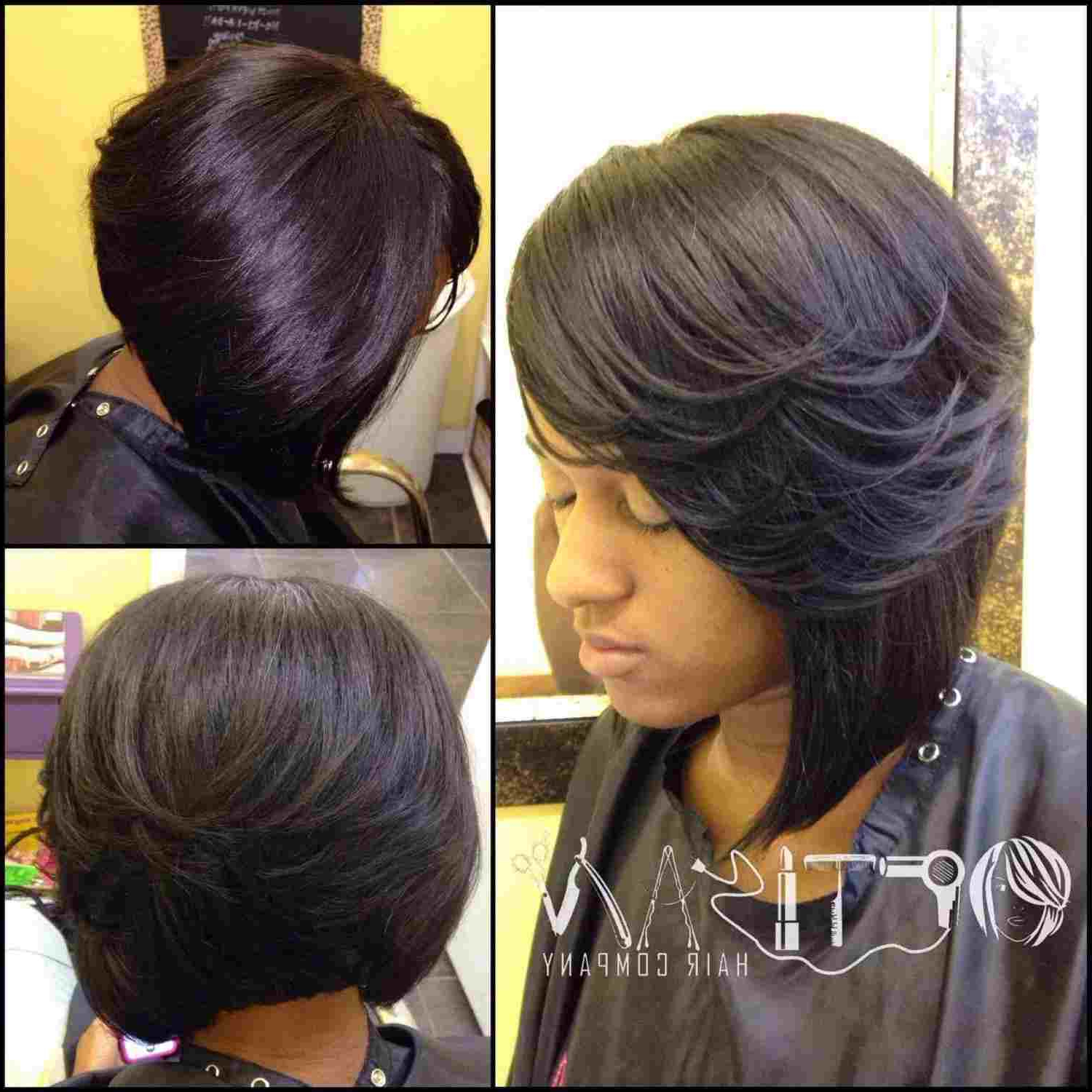 Bangs Black Layered Bob Hairstyles 2015 Google Search For Black Little Girl Short Hairstyles (View 12 of 25)