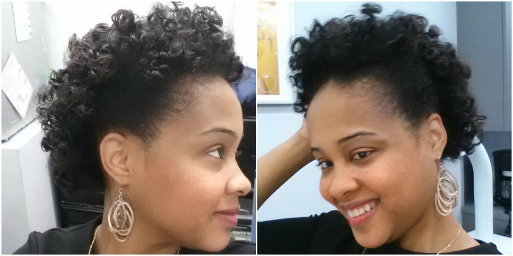 Bantu Knots Hair Tutorial On Transitioning Hair ? Short Natural Within Short Haircuts For Transitioning Hair (View 4 of 25)