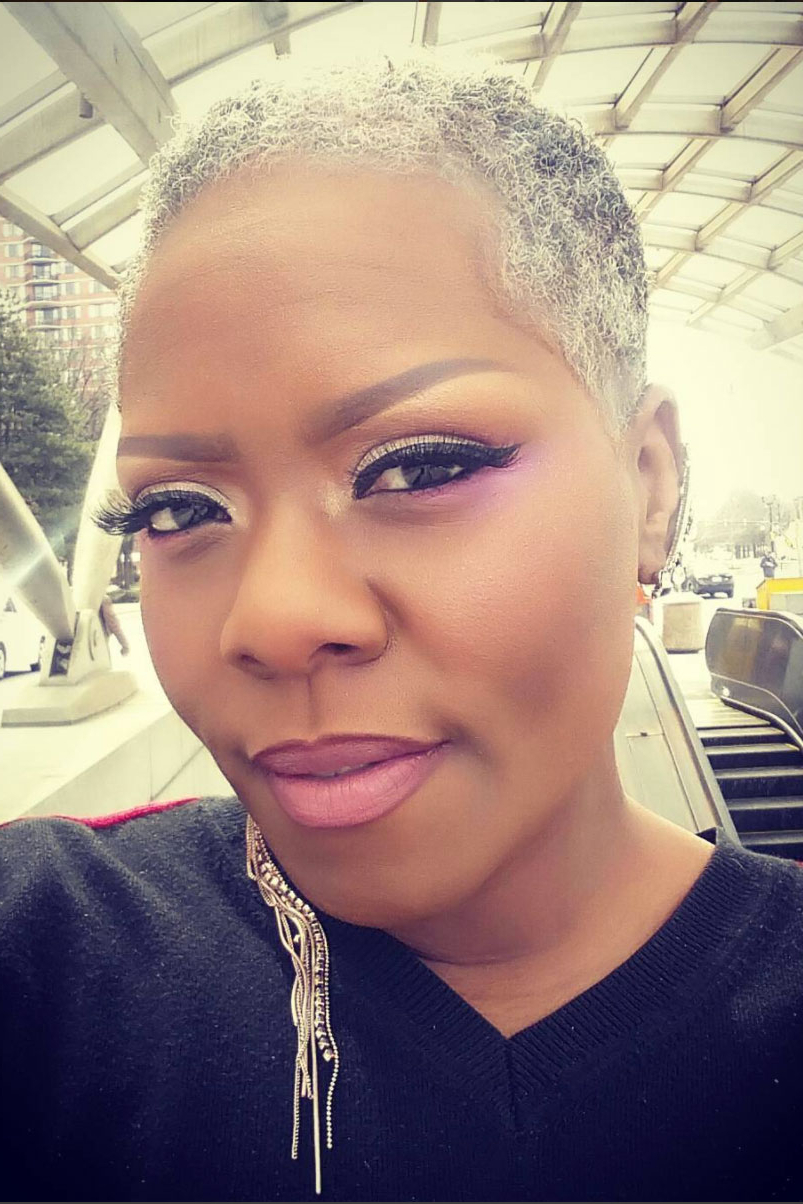 Beautiful Black Woman With Gray Hair – Essence With Regard To Short Hairstyles For Grey Haired Woman (View 12 of 25)