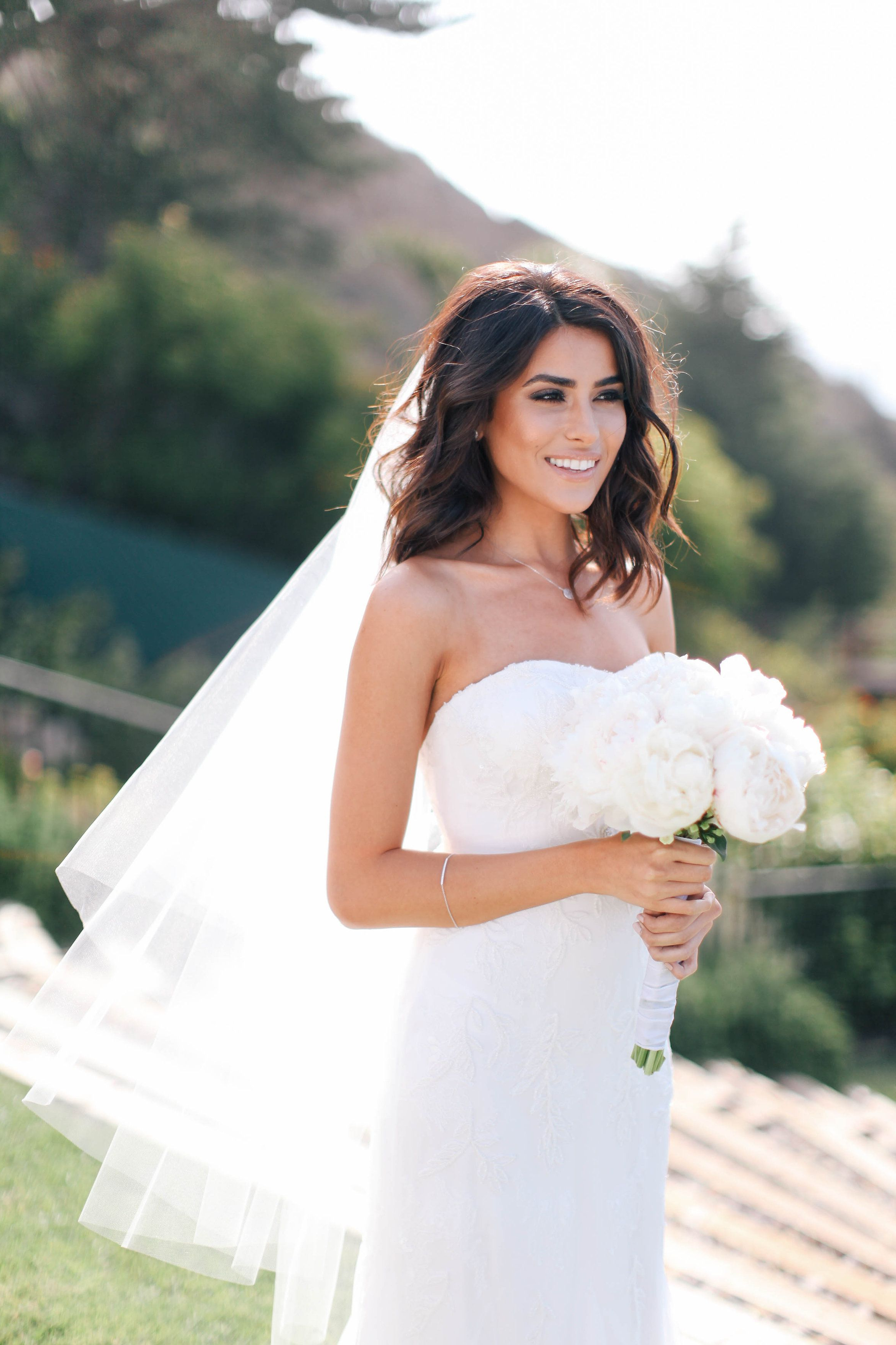 Beautiful Bride Sazan! | Wedded Bliss | Pinterest | Wedding With Regard To Hairstyles For Brides With Short Hair (View 22 of 25)