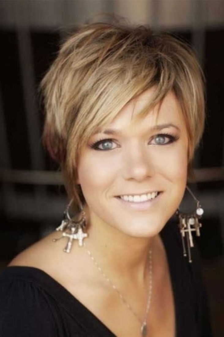 Beautiful Haircuts For Fat Women Over 40  Alwaysdc Within Stylish Short Haircuts For Women Over  (View 7 of 25)