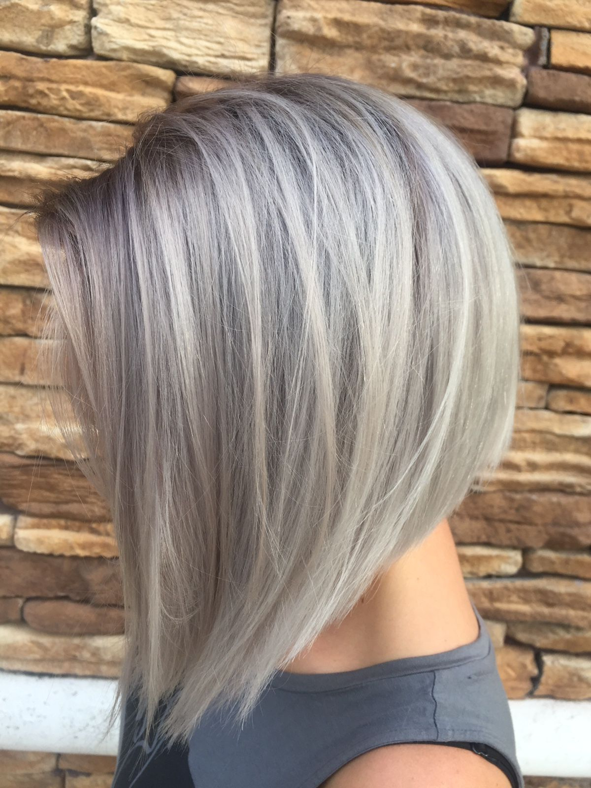 Beautiful Short Bob Hairstyles And Haircuts With Bangs | Hair Within Ash Blonde Short Hairstyles (View 14 of 25)
