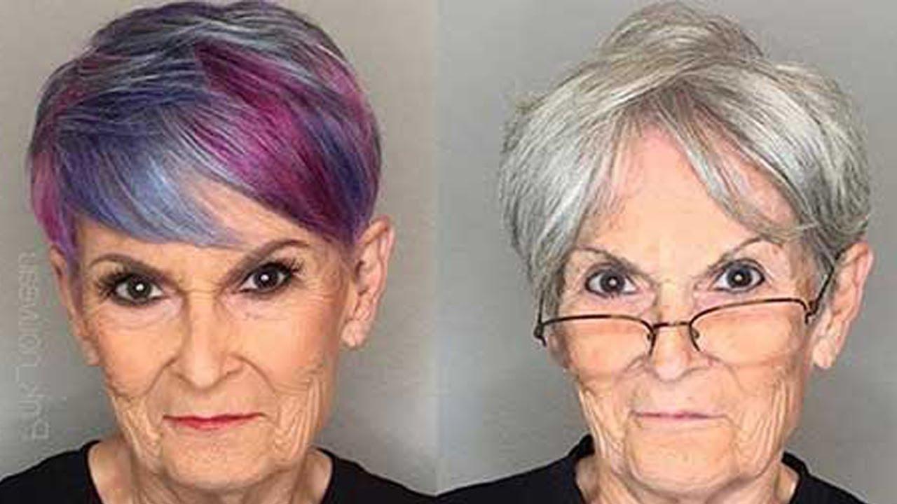 Beautiful Short Haircuts For Older Women In 2017 – Youtube For Older Women Short Haircuts (View 25 of 25)