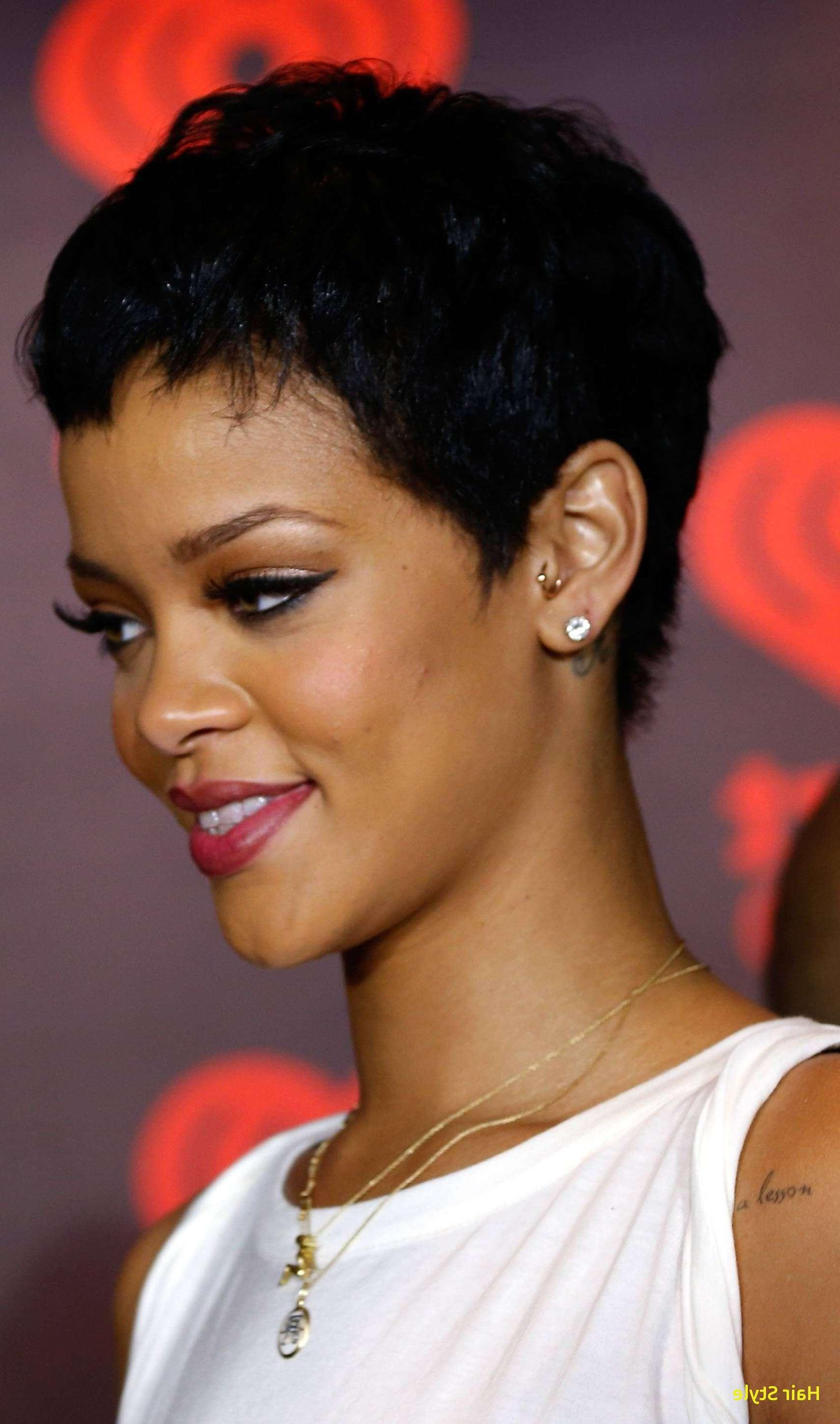Beautiful Short Hairstyles For Black Women With Round Faces 2016 Concept Inside Short Haircuts For Round Faces Black Women (View 4 of 25)