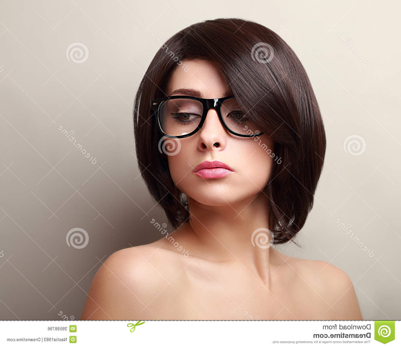 Beautiful Woman In Glasses (View 24 of 25)