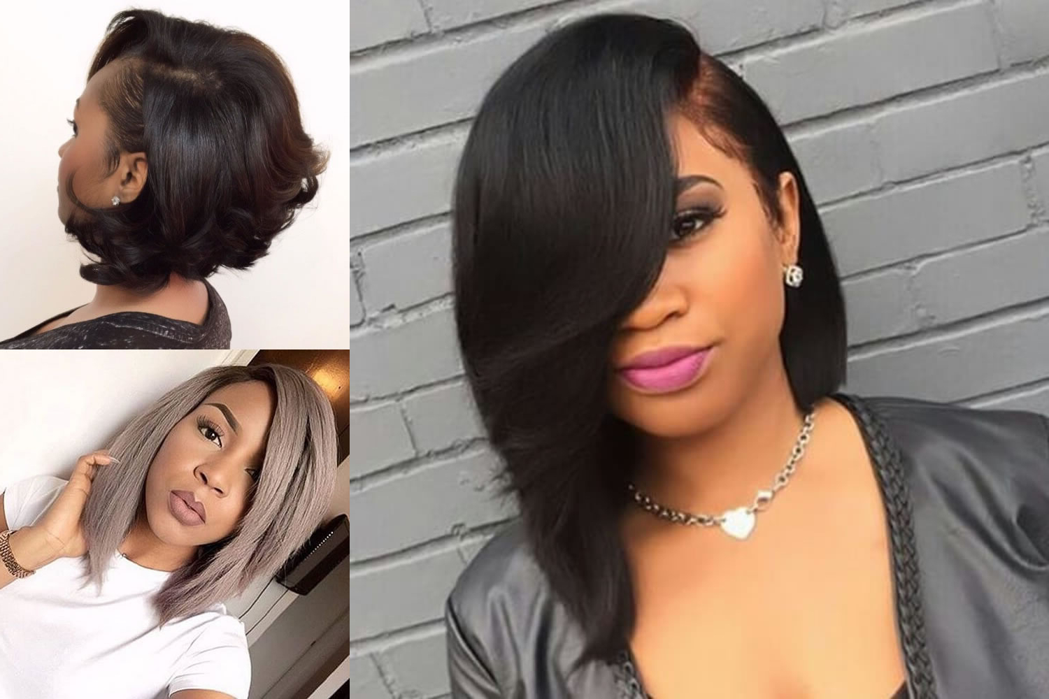 Best 45 Short Bob Hairstyle For Black Women & Hair Color Ideas Pertaining To Bob Short Hairstyles For Black Women (View 4 of 25)
