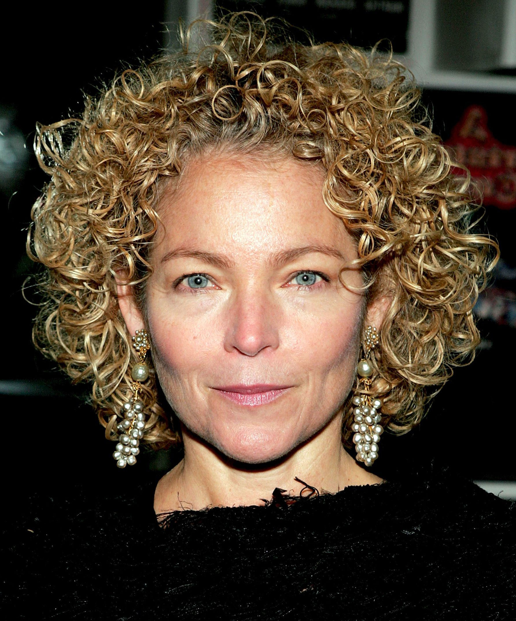 Best Curly Hairstyles For Women Over 50 Inside Blow Dry Short Curly Hair (View 22 of 25)