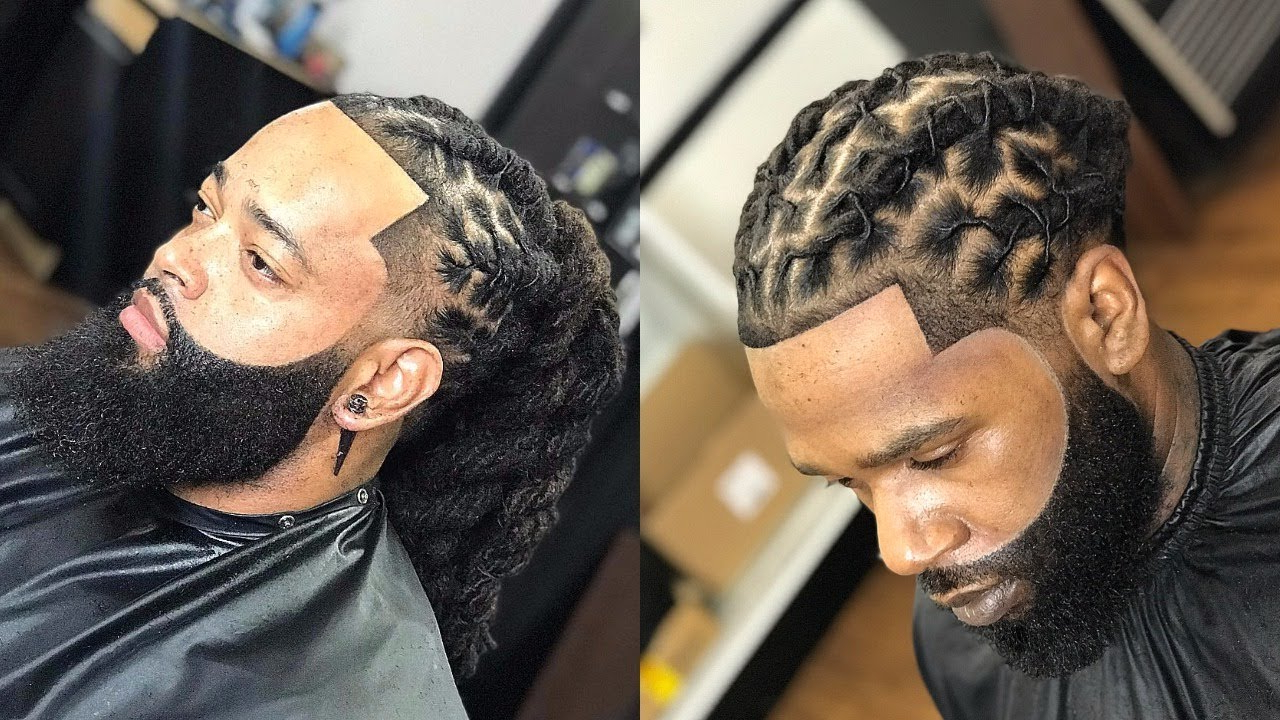 Best Dreads Locs Haircuts & Hairstyles For African American Men's Within Short Haircuts For Studs (View 15 of 25)