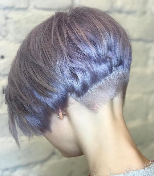 Best Haircut Ideas Bob In 2017 – Top Beauty Design For Women With Layered Pixie Hairstyles With Nape Undercut (View 21 of 25)