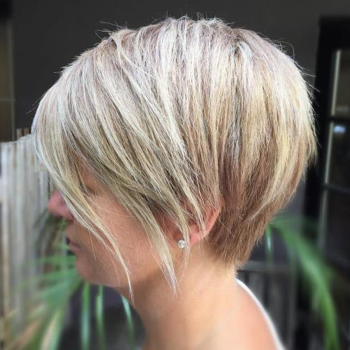 Best Haircut Ideas Bob In 2017 – Top Beauty Ideas For Women In Choppy Pixie Bob Haircuts With Stacked Nape (View 17 of 25)