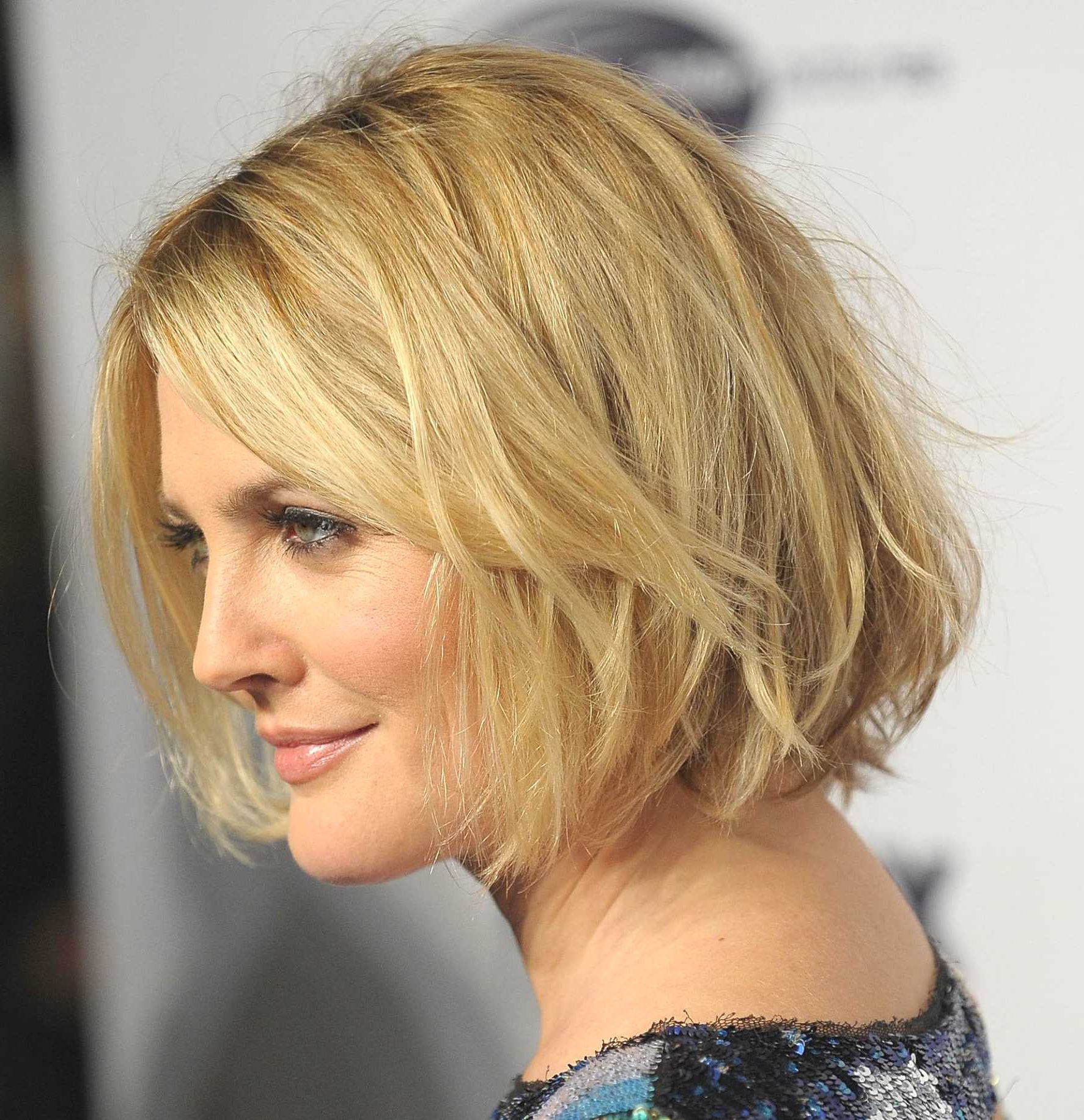 Best Of Bob Hairstyles Without Bangs Pertaining To Short Haircuts Without Bangs (View 23 of 25)