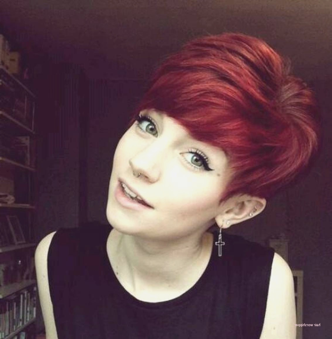 Best Of Cute Short Haircuts For Red Hair – Hair Worshipper Intended For Short Hairstyles With Red Hair (View 2 of 25)