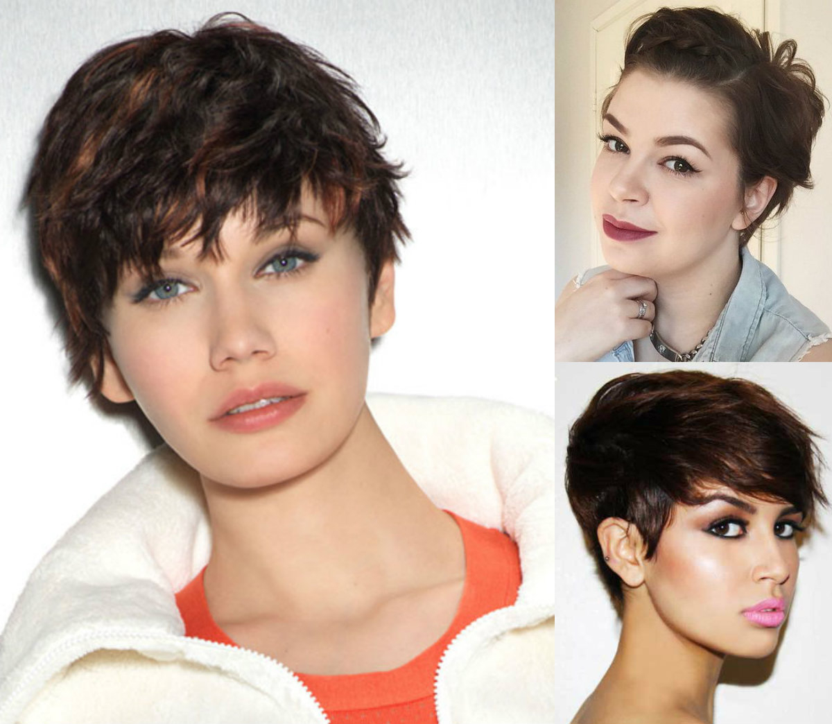 Best Pixie Haircuts For Round Faces 2017   Hairdrome For Short Haircuts For Different Face Shapes (View 16 of 25)