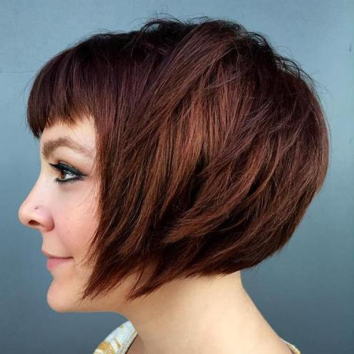 Best Short Bob Haircut Ideas In 2017 – Best Beauty Design For Women With Regard To Undercut Bob Hairstyles With Jagged Ends (View 25 of 25)
