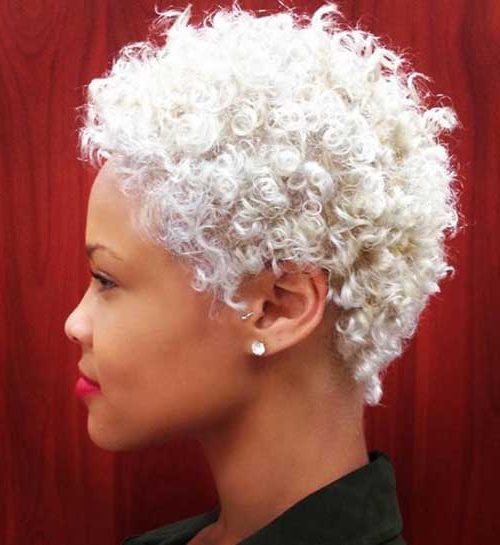 Best Short Curly Weave Hairstyles | Short Hairstyles 2017 – 2018 In Blonde Bob Hairstyles With Tapered Side (View 10 of 25)
