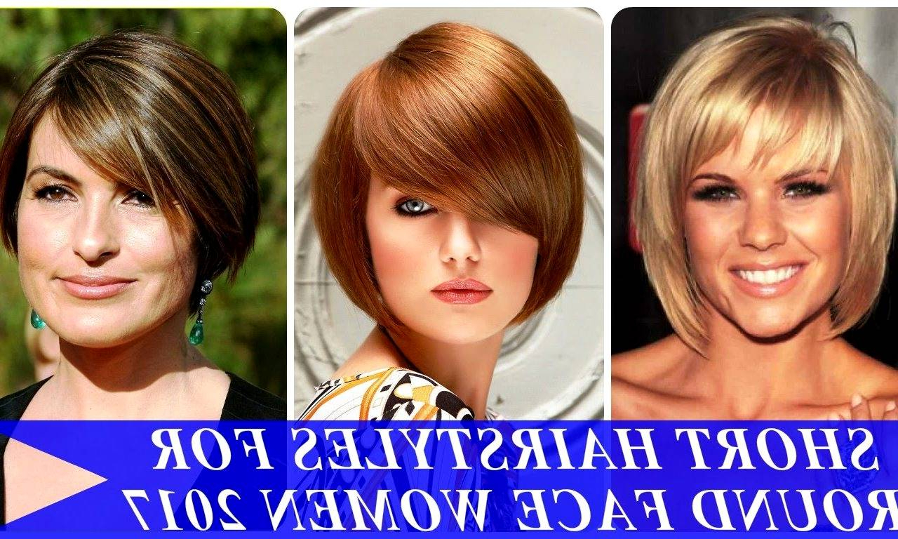 Best Short Hair For Round Face And Double Chin – Hairhighlights (View 23 of 25)