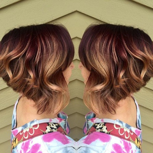 Best Short Haircut Color Ideas In 2017 – Best Beauty Design For Women Inside Short Bob Hairstyles With Dimensional Coloring (View 16 of 25)