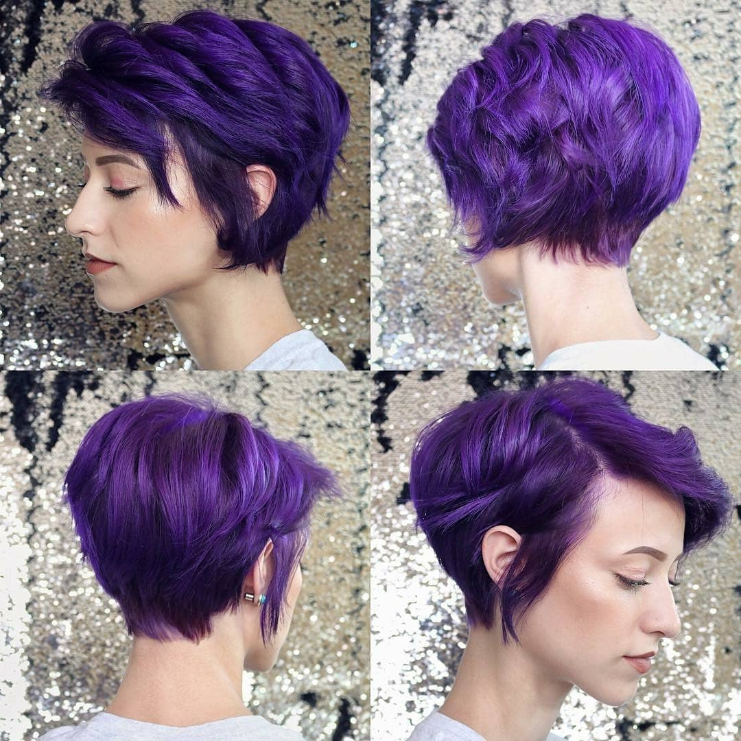 Best Short Haircut For Women, Cute Short Hairstyle Designs – Popular Intended For Cute Color For Short Hair (View 7 of 25)
