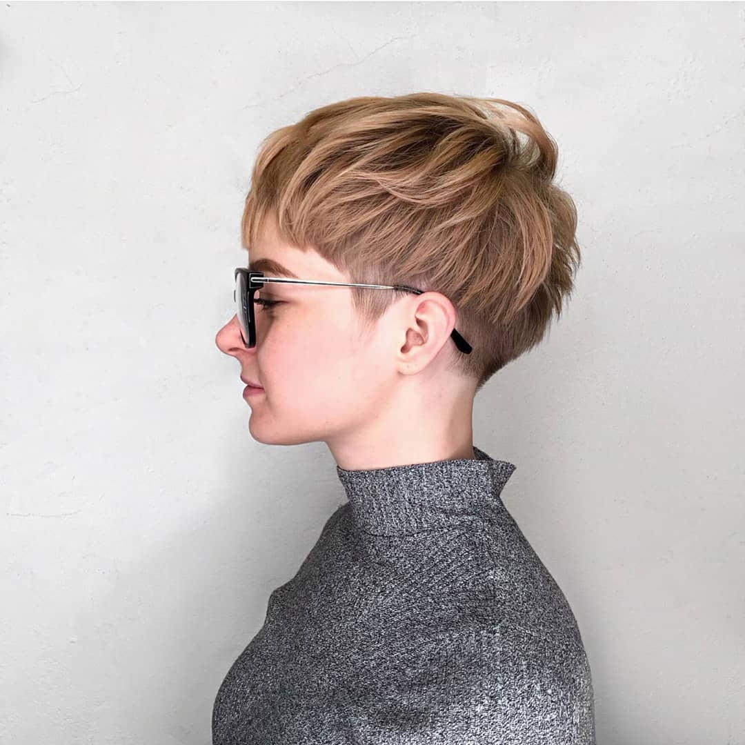 Best Short Haircut For Women, Cute Short Hairstyle Designs – Popular With Short Hair Cut Designs (View 12 of 25)