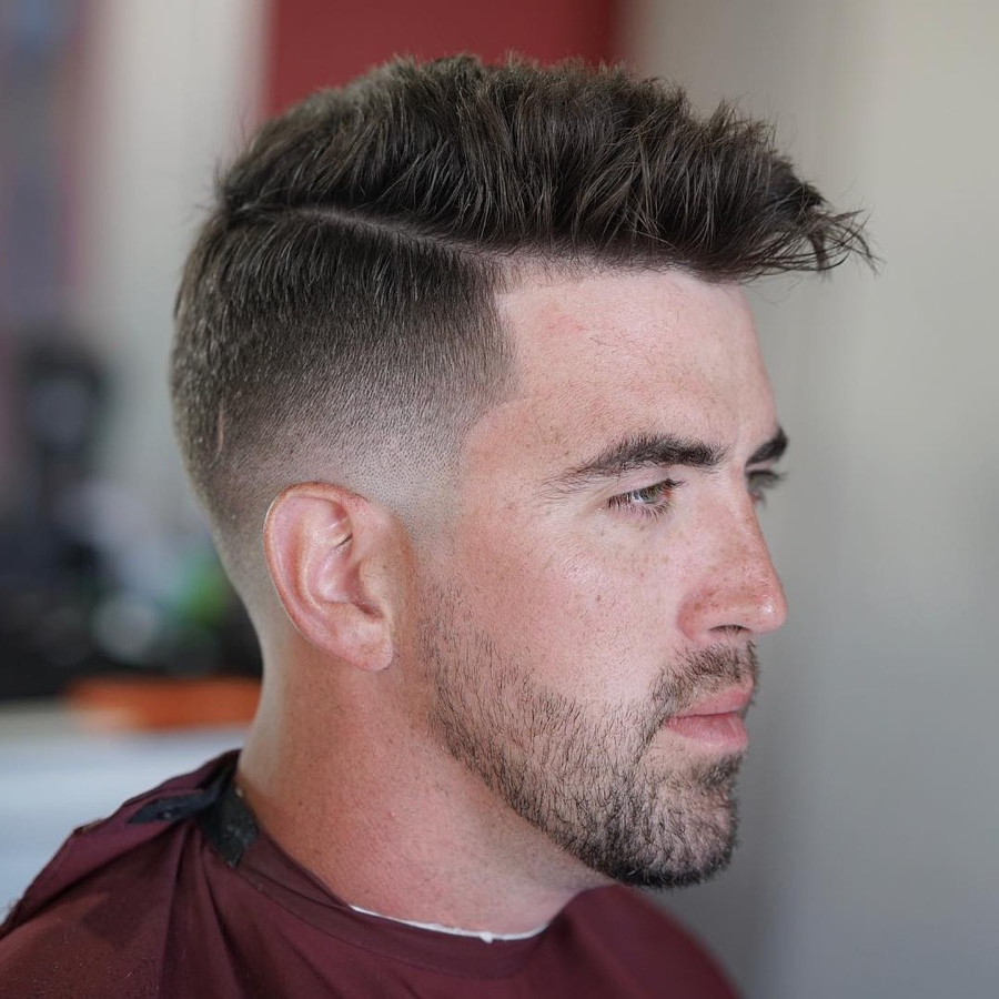 Best Short Haircut Styles For Men Inside Short Haircuts For Small Foreheads (View 24 of 25)