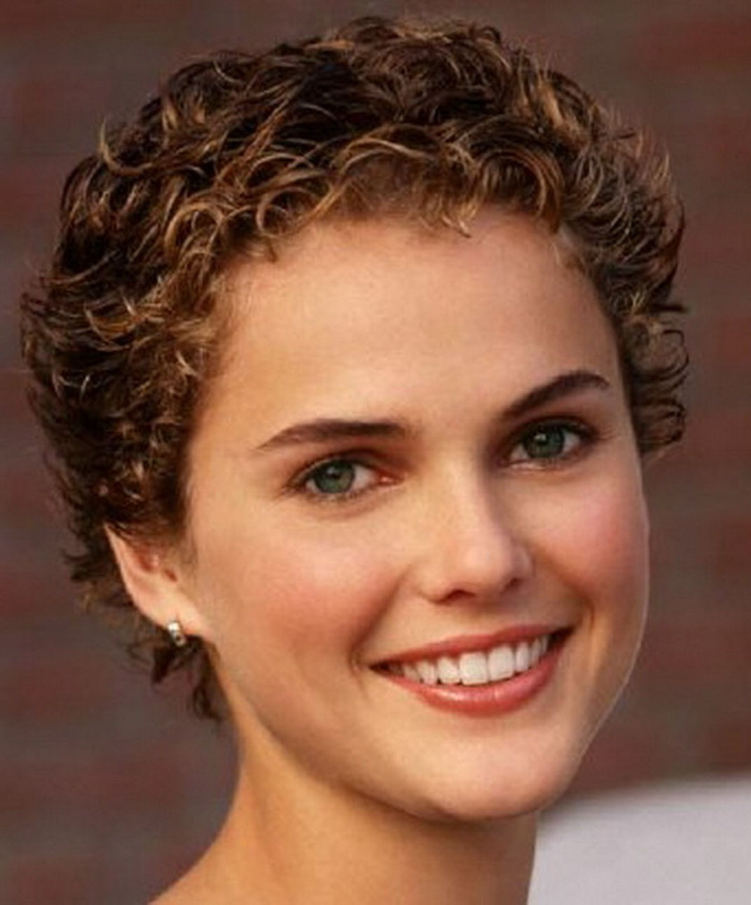 Best Short Haircuts For Fine Curly Hair Luxury Short Layered With Short Hairstyles For Fine Curly Hair (View 12 of 25)