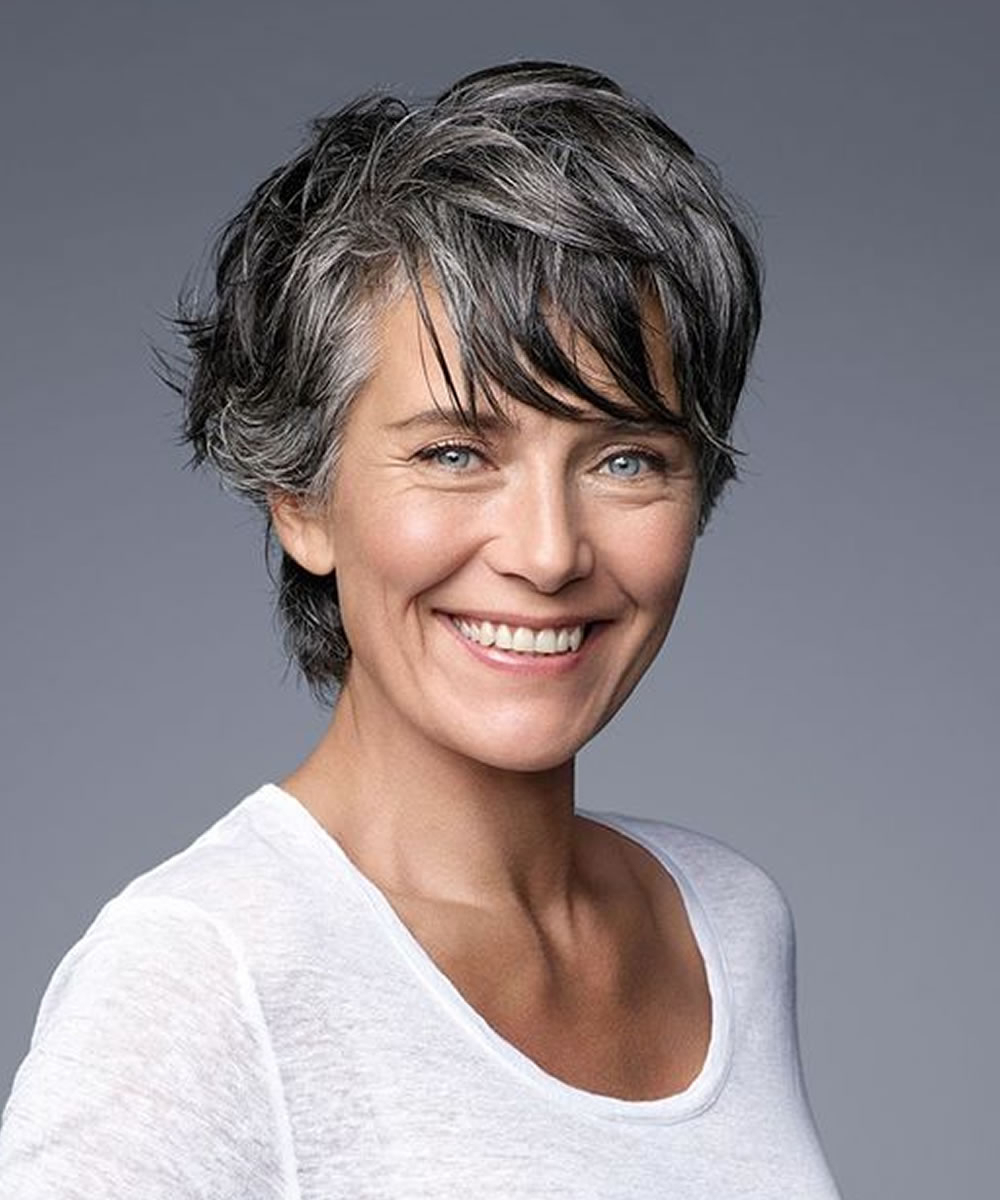 Best Short Haircuts For Older Women Over 50 – Hairstyles With Regard To Best Short Haircuts For Over  (View 14 of 25)