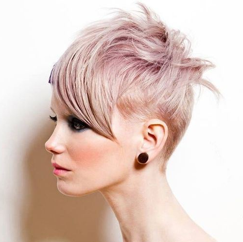 Best Short Haircuts For Thin Hair | Styles Weekly For Edgy Pixie Haircuts For Fine Hair (View 21 of 25)