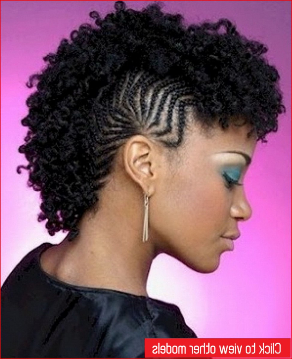 Best Short Hairstyle Mohawk Hairstyles » Best Short Hairstyles With Mohawk Short Hairstyles For Black Women (View 19 of 25)