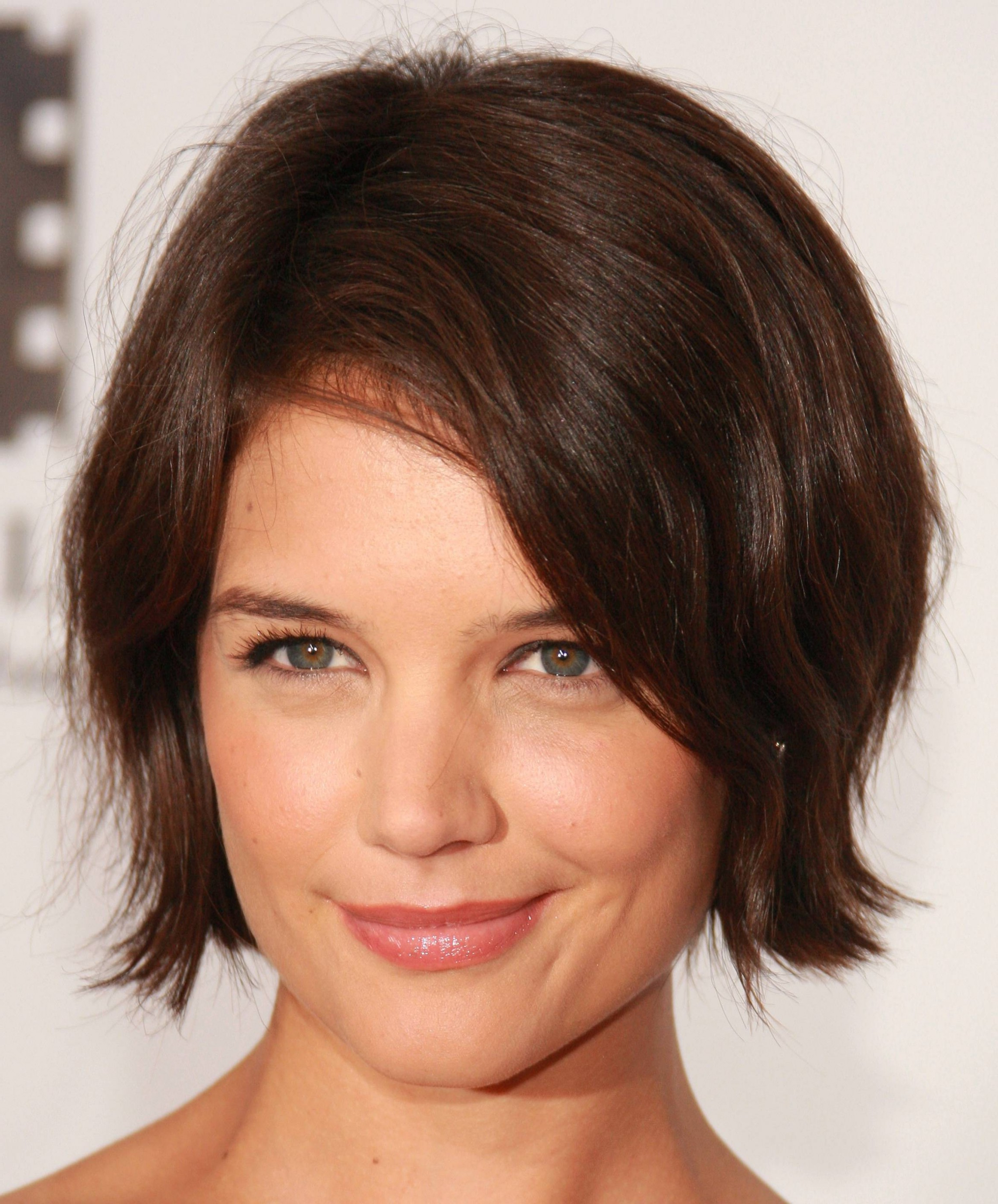 Best Short Hairstyles – Cute Hair Cut Guide For Round Face Shape Inside Short To Medium Hairstyles For Round Faces (View 13 of 25)