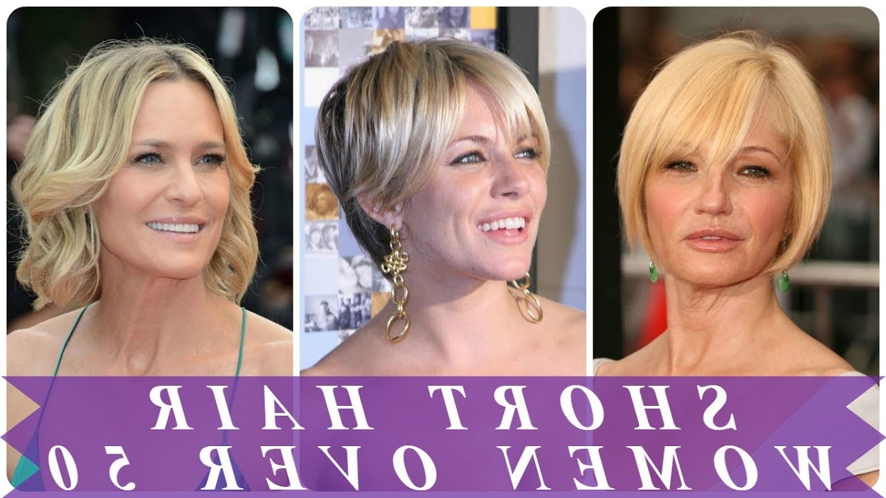 Best Short Hairstyles For 50 Year Old Woman 2018 – Youtube Pertaining To Short Hairstyles For 50 Year Old Woman (View 10 of 25)