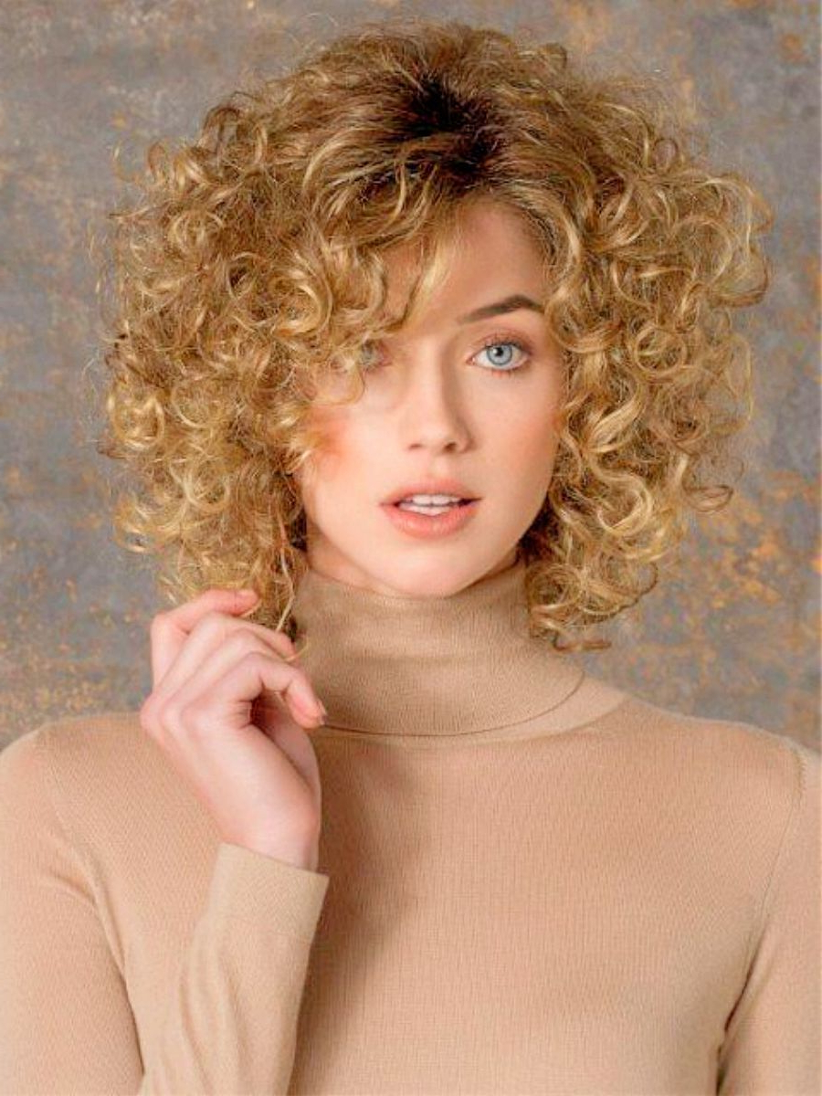 Best Short Hairstyles For Curly Hair | Hair | Pinterest | Fine Curly Inside Short Hairstyles For Thin Curly Hair (View 4 of 25)