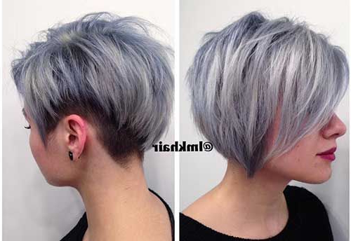 Best Textured Haircuts You'll Love | Hair Envy | Pinterest | Hair Pertaining To White Bob Undercut Hairstyles With Root Fade (View 9 of 25)